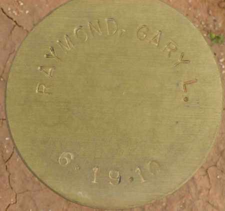RAYMOND, GARY L. - Maricopa County, Arizona | GARY L. RAYMOND - Arizona Gravestone Photos