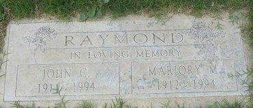 RAYMOND, JOHN C - Maricopa County, Arizona | JOHN C RAYMOND - Arizona Gravestone Photos