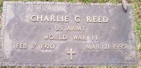 REED, CHARLIE G. - Maricopa County, Arizona   CHARLIE G. REED - Arizona Gravestone Photos
