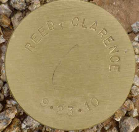 REED, CLARENCE - Maricopa County, Arizona | CLARENCE REED - Arizona Gravestone Photos
