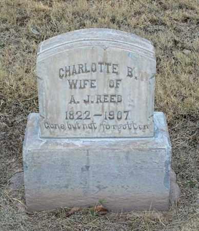 REED, CHARLOTTE B. - Maricopa County, Arizona | CHARLOTTE B. REED - Arizona Gravestone Photos