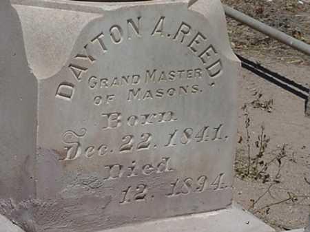 REED, DAYTON ALONZO - Maricopa County, Arizona | DAYTON ALONZO REED - Arizona Gravestone Photos