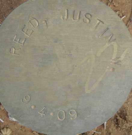 REED, JUSTIN W. - Maricopa County, Arizona | JUSTIN W. REED - Arizona Gravestone Photos