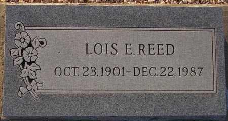REED, LOIS E. - Maricopa County, Arizona   LOIS E. REED - Arizona Gravestone Photos