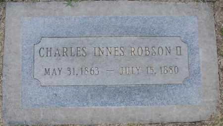 ROBSON, CHARLES INNES II - Maricopa County, Arizona | CHARLES INNES II ROBSON - Arizona Gravestone Photos