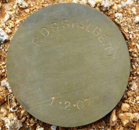 ROSS, ALBERT - Maricopa County, Arizona | ALBERT ROSS - Arizona Gravestone Photos