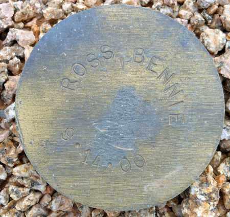 ROSS, BENNIE - Maricopa County, Arizona   BENNIE ROSS - Arizona Gravestone Photos