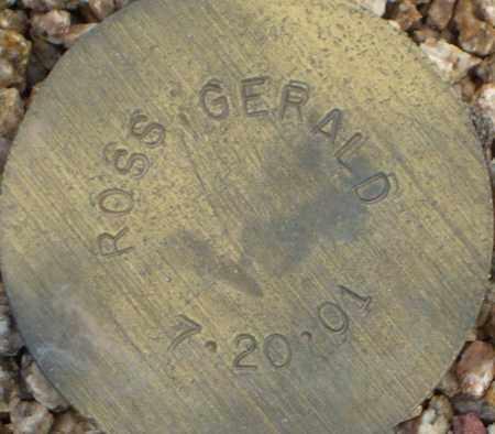 ROSS, GERALD - Maricopa County, Arizona | GERALD ROSS - Arizona Gravestone Photos