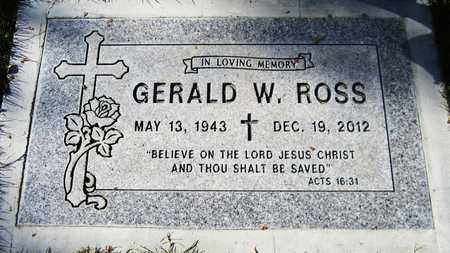 ROSS, GERALD W. - Maricopa County, Arizona | GERALD W. ROSS - Arizona Gravestone Photos