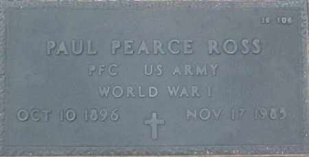 ROSS, PAUL PEARCE - Maricopa County, Arizona | PAUL PEARCE ROSS - Arizona Gravestone Photos