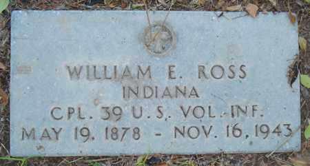 ROSS, WILLIAM E. - Maricopa County, Arizona | WILLIAM E. ROSS - Arizona Gravestone Photos