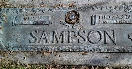 SAMPSON, ETHEL - Maricopa County, Arizona | ETHEL SAMPSON - Arizona Gravestone Photos