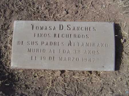 SANCHEZ, TOMASA - Maricopa County, Arizona | TOMASA SANCHEZ - Arizona Gravestone Photos