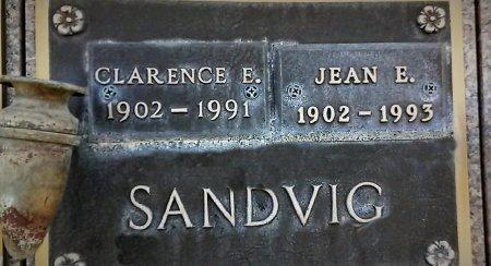 SANDVIG, CLARENCE E - Maricopa County, Arizona | CLARENCE E SANDVIG - Arizona Gravestone Photos