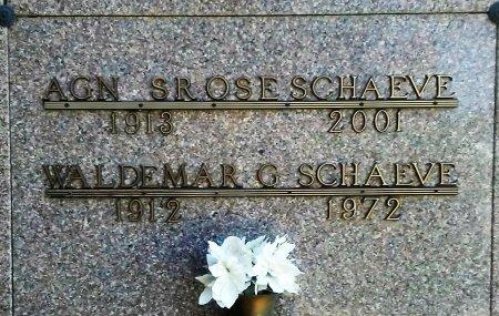 SCHAEVE, WALDEMAR GEORGE - Maricopa County, Arizona | WALDEMAR GEORGE SCHAEVE - Arizona Gravestone Photos