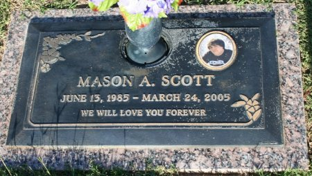 SCOTT, MASON A - Maricopa County, Arizona | MASON A SCOTT - Arizona Gravestone Photos