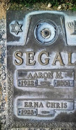 SEGAL, AARON MAURY - Maricopa County, Arizona | AARON MAURY SEGAL - Arizona Gravestone Photos