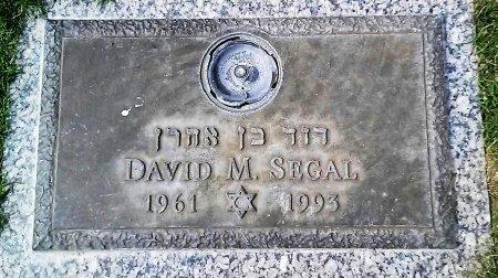 SEGAL, DAVID M. - Maricopa County, Arizona | DAVID M. SEGAL - Arizona Gravestone Photos