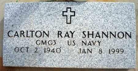 SHANNON, CARLTON RAY - Maricopa County, Arizona   CARLTON RAY SHANNON - Arizona Gravestone Photos