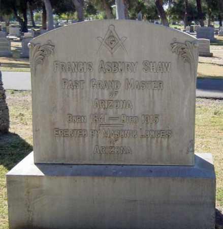 SHAW, FRANCIS ASBURY - Maricopa County, Arizona   FRANCIS ASBURY SHAW - Arizona Gravestone Photos