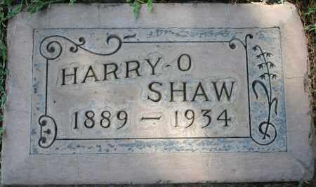 SHAW, HARRY OLIVER - Maricopa County, Arizona | HARRY OLIVER SHAW - Arizona Gravestone Photos