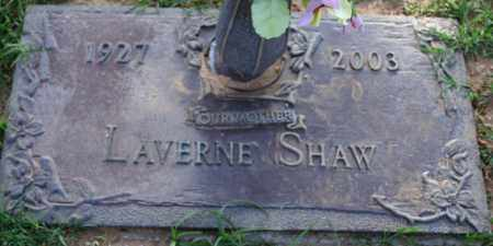 SHAW, LAVERNE - Maricopa County, Arizona | LAVERNE SHAW - Arizona Gravestone Photos