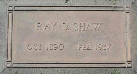 SHAW, RAY D. - Maricopa County, Arizona | RAY D. SHAW - Arizona Gravestone Photos