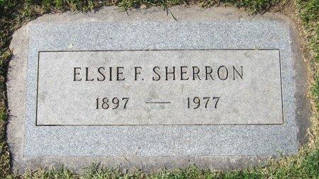 SHERRON, ELSIE F. - Maricopa County, Arizona   ELSIE F. SHERRON - Arizona Gravestone Photos