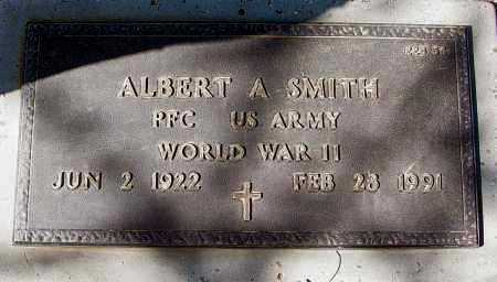 SMITH, ALBERT A. - Maricopa County, Arizona | ALBERT A. SMITH - Arizona Gravestone Photos