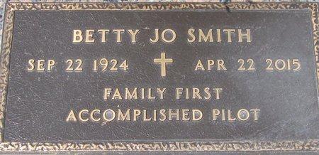 SMITH, BETTY JO - Maricopa County, Arizona   BETTY JO SMITH - Arizona Gravestone Photos