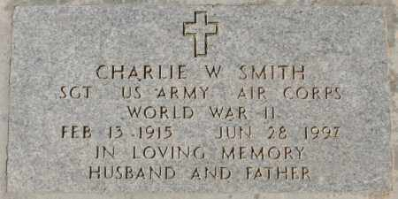 SMITH, CHARLIE W - Maricopa County, Arizona | CHARLIE W SMITH - Arizona Gravestone Photos