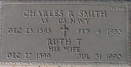 SMITH, CHARLES R - Maricopa County, Arizona | CHARLES R SMITH - Arizona Gravestone Photos