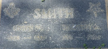 SMITH, LOREN W - Maricopa County, Arizona | LOREN W SMITH - Arizona Gravestone Photos