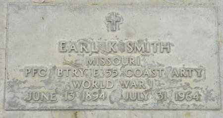 SMITH, EARL K - Maricopa County, Arizona | EARL K SMITH - Arizona Gravestone Photos