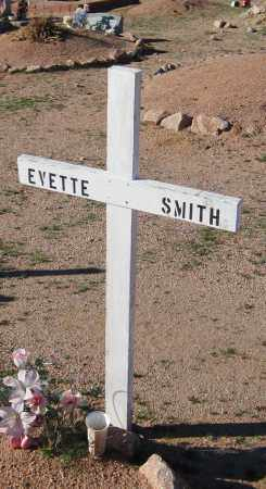 SMITH, EVETTE - Maricopa County, Arizona | EVETTE SMITH - Arizona Gravestone Photos