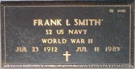 SMITH, FRANK L. - Maricopa County, Arizona | FRANK L. SMITH - Arizona Gravestone Photos