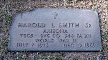 SMITH, HAROLD L., SR. - Maricopa County, Arizona | HAROLD L., SR. SMITH - Arizona Gravestone Photos