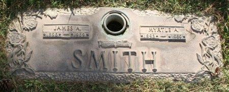 SMITH, MYRTLE A - Maricopa County, Arizona | MYRTLE A SMITH - Arizona Gravestone Photos