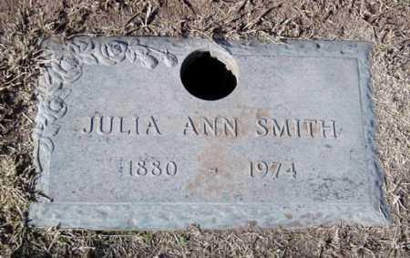 SMITH, JULIA ANN - Maricopa County, Arizona | JULIA ANN SMITH - Arizona Gravestone Photos