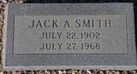 SMITH, JACK A. - Maricopa County, Arizona | JACK A. SMITH - Arizona Gravestone Photos