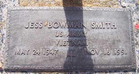 SMITH, JESS BOWMAN - Maricopa County, Arizona   JESS BOWMAN SMITH - Arizona Gravestone Photos