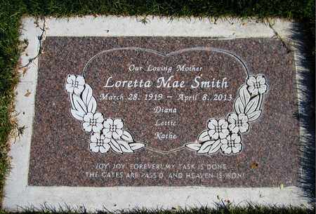 SMITH, LORETTA MAE - Maricopa County, Arizona | LORETTA MAE SMITH - Arizona Gravestone Photos