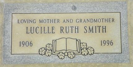 SMITH, LUCILLE RUTH - Maricopa County, Arizona | LUCILLE RUTH SMITH - Arizona Gravestone Photos