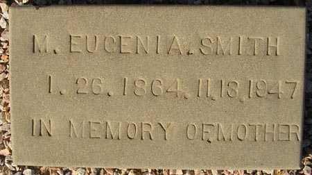 SMITH, M. EUGENIA - Maricopa County, Arizona | M. EUGENIA SMITH - Arizona Gravestone Photos