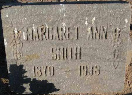 SMITH, MARGARET ANN - Maricopa County, Arizona | MARGARET ANN SMITH - Arizona Gravestone Photos
