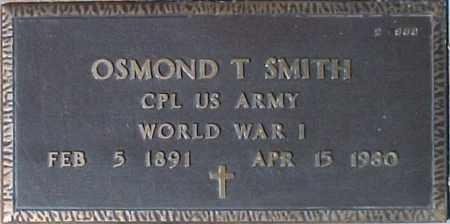 SMITH, OSMOND T. - Maricopa County, Arizona | OSMOND T. SMITH - Arizona Gravestone Photos