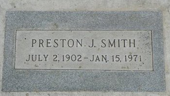 SMITH, PRESTON J - Maricopa County, Arizona   PRESTON J SMITH - Arizona Gravestone Photos