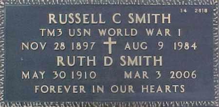 SMITH, RUTH D - Maricopa County, Arizona | RUTH D SMITH - Arizona Gravestone Photos