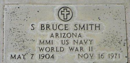 SMITH, S BRUCE - Maricopa County, Arizona | S BRUCE SMITH - Arizona Gravestone Photos