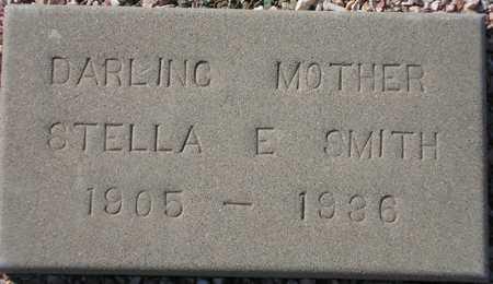 SMITH, STELLA E. - Maricopa County, Arizona   STELLA E. SMITH - Arizona Gravestone Photos